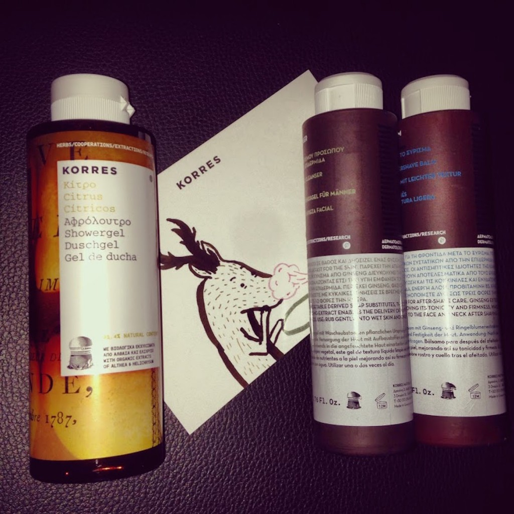 Korres Citrus shower gel & miraculous shaving products!