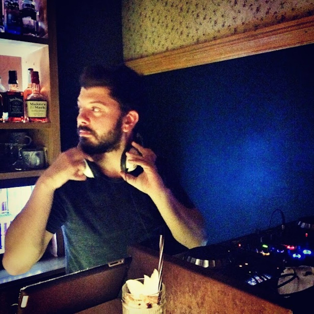 Meet Vagelis, my #bff since we were 2 years old - on the decks of Theory Bar&More every Sunday evening