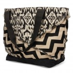 Mix-pattern tote by TOMS.