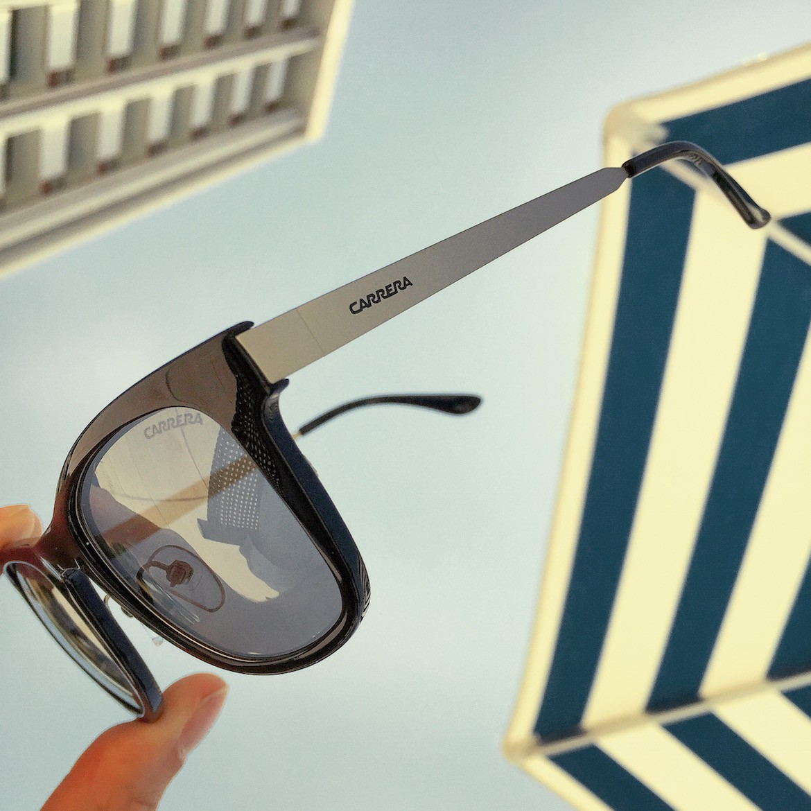 Fine contemporary design & strong eye protection by Carrera (Safilo).