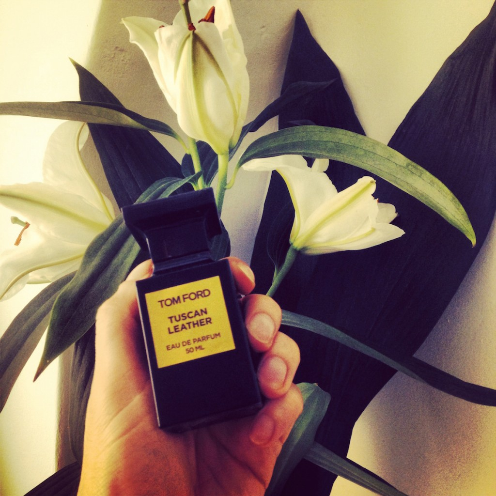 TUSCAN LEATHER - a warm summer evening perfume by Tom Ford.
