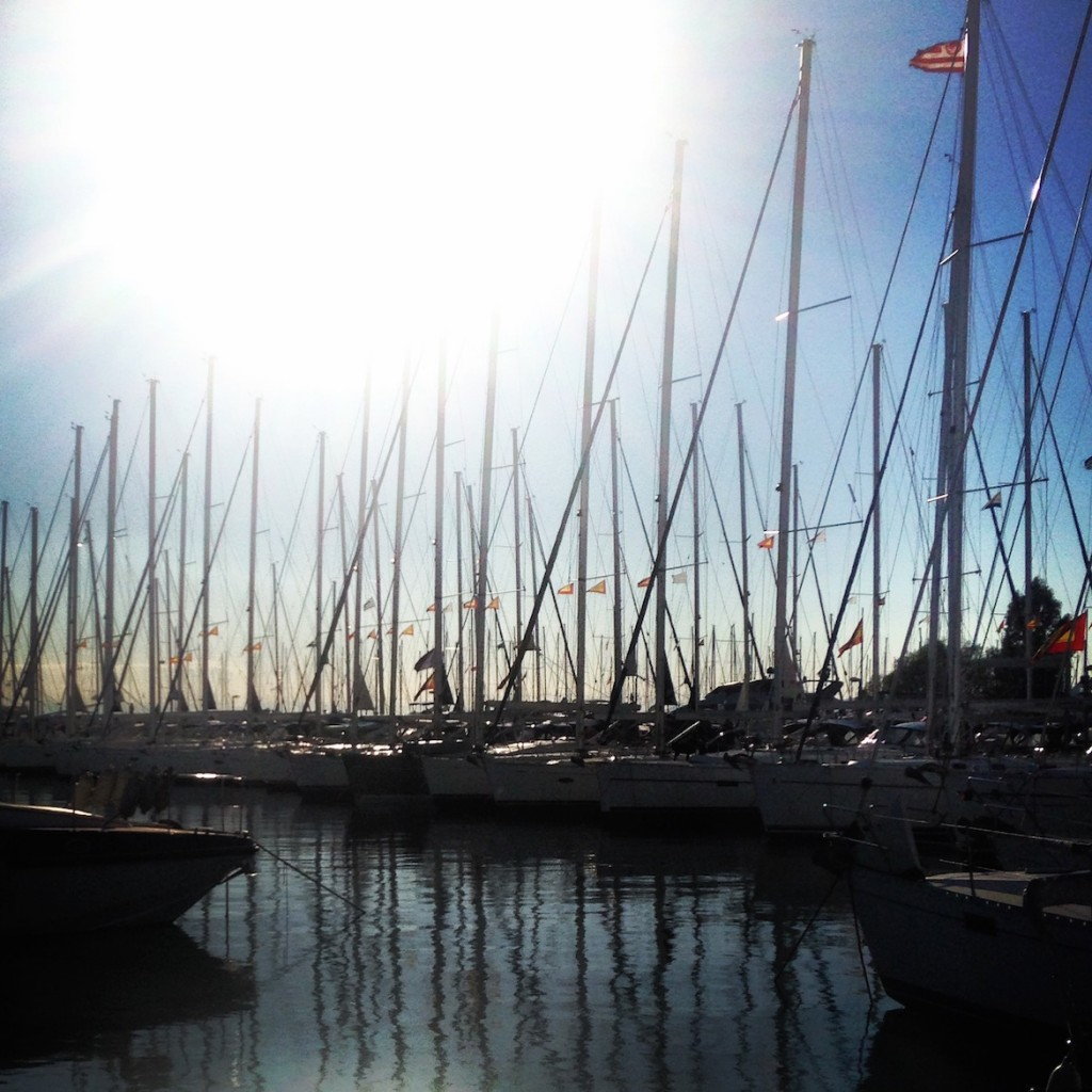 Lots of beautiful marinas along the coast (this one in Alimos)