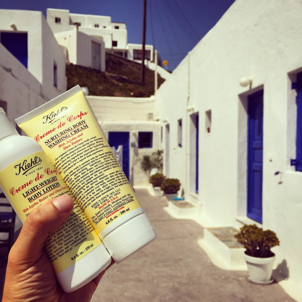 #2 - Creme de Corps nurturing body wash & light-weight body lotion after a long day at the beach.