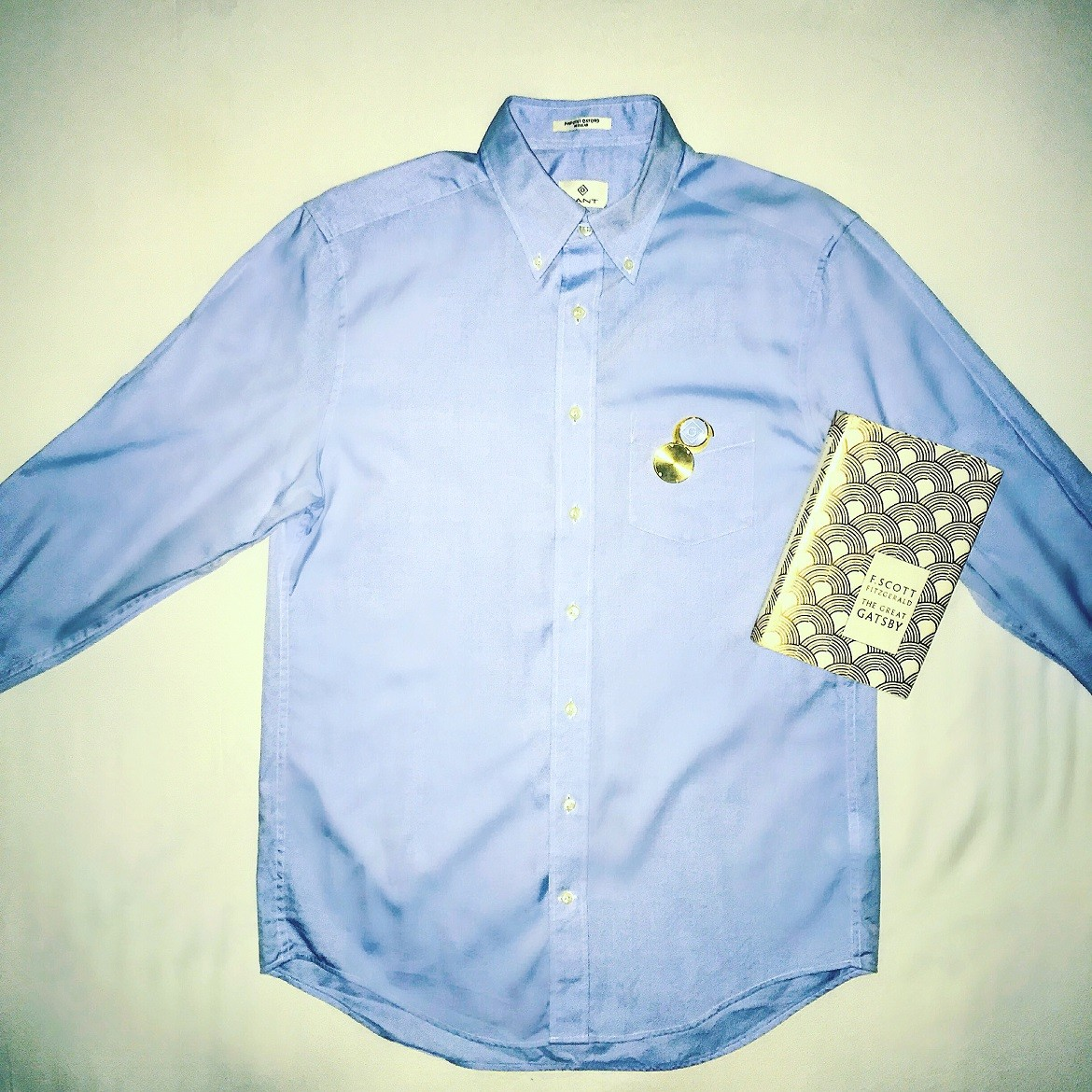 A light blue nu-preppy shirt for the modern urban Gatsby.