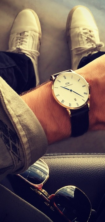 A hipster's <b>preppy watch</b> made in Sweden