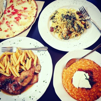 We welcome authentic italian cuisine at <i>La Pasteria Kolonaki</i>!
