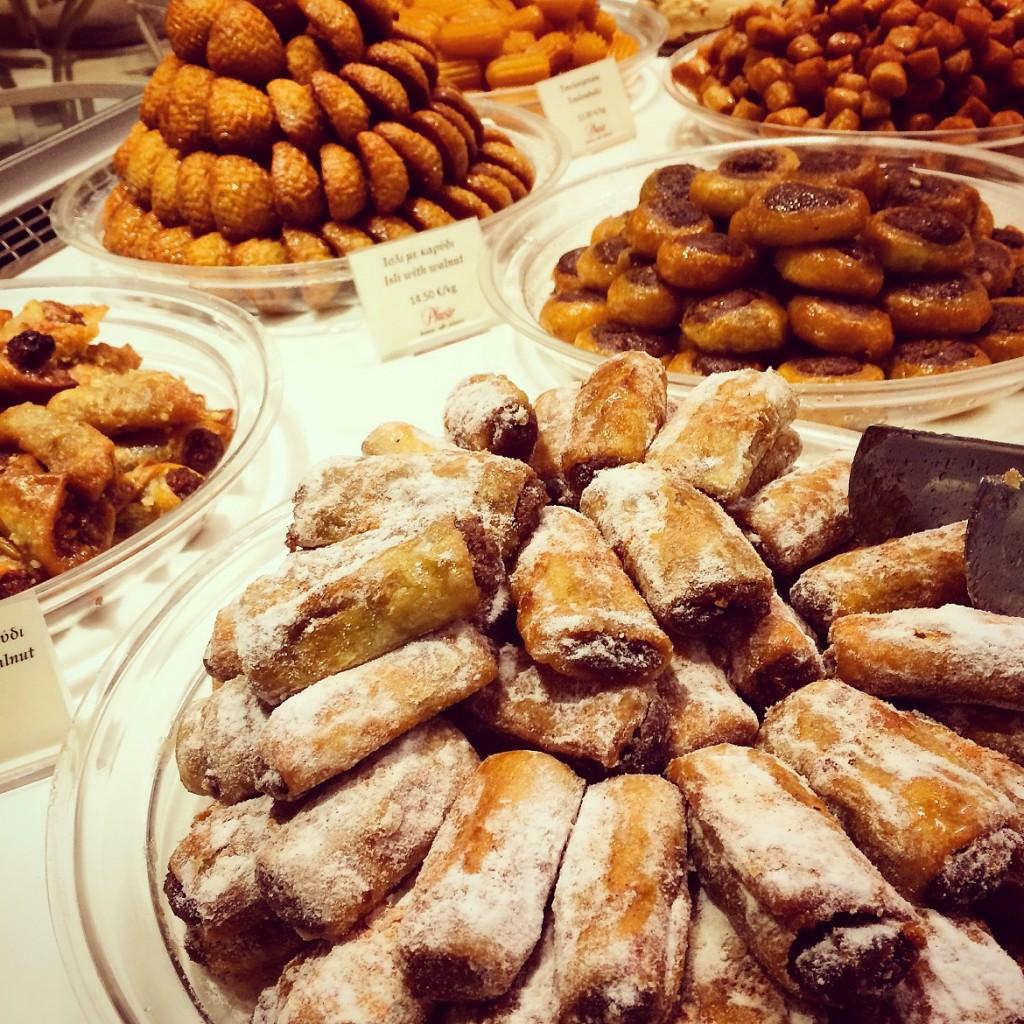 Plaisir cafe-patisserie is the best when it comes to turkish delights...