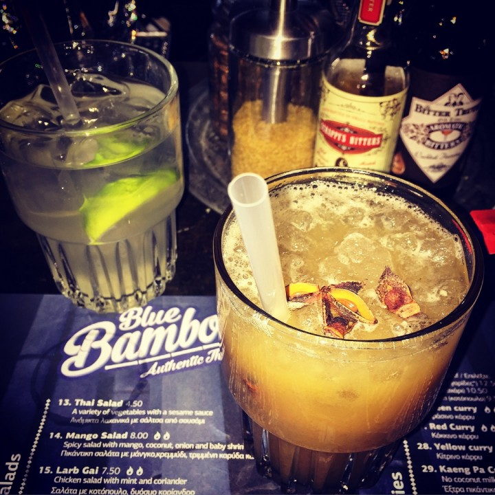 This weekend join me for cocktails (+best thai food) at <i>Blue Bamboo</i>!