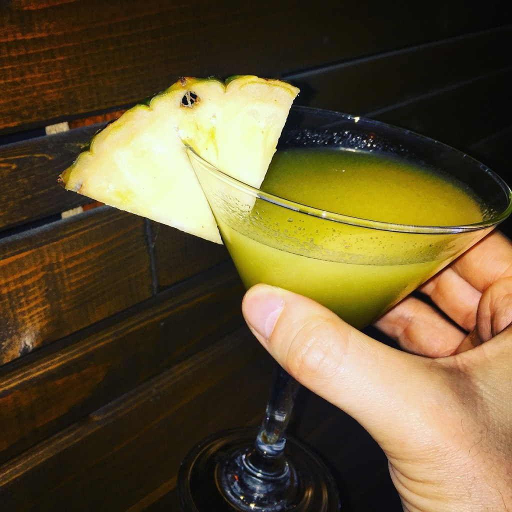 """Last but not least: a """"Mango Tango"""" cocktail to call it a (happy) night..."""