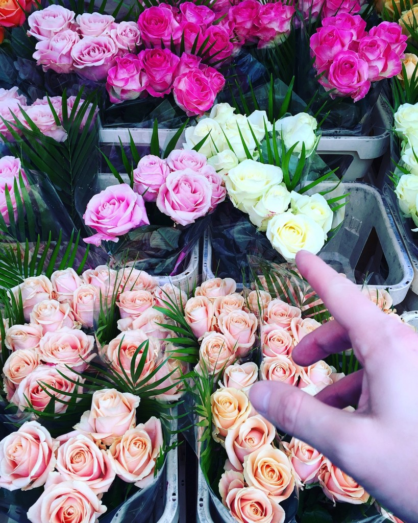 East London Sunday ritual: the flower market on Columbia road
