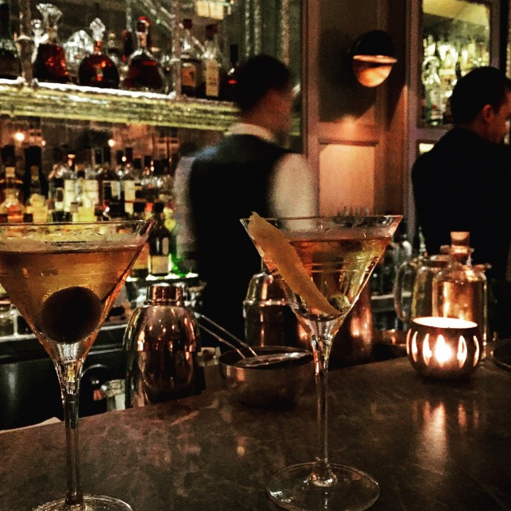 <b>Martini(s)</b> at the Connaught Bar - <i>ranked no9 in the world!</i>