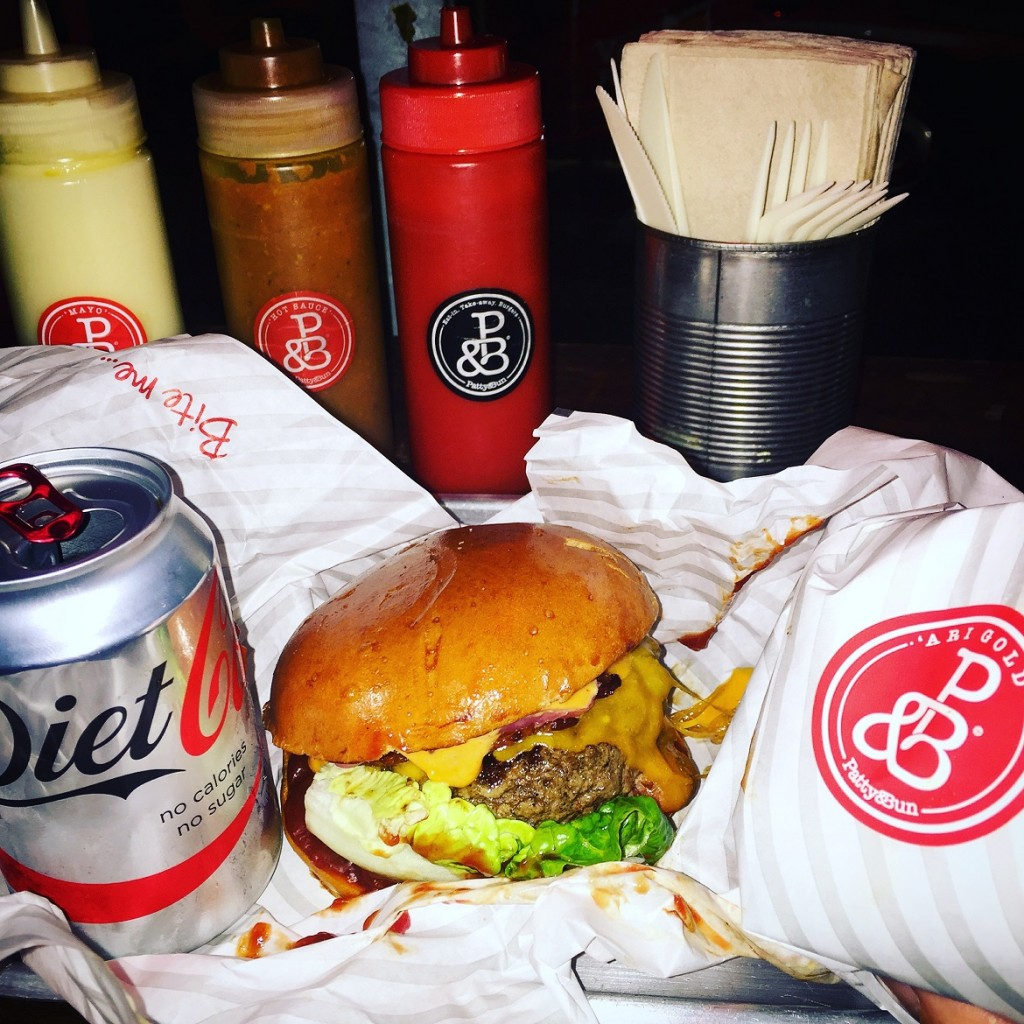 """Everybody recommends Patty & Bun as """"the best burger in London""""... Well it's damn good!"""