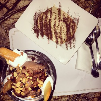Must try: the <b>amazing desserts</b> at <i>Zonars</i>!