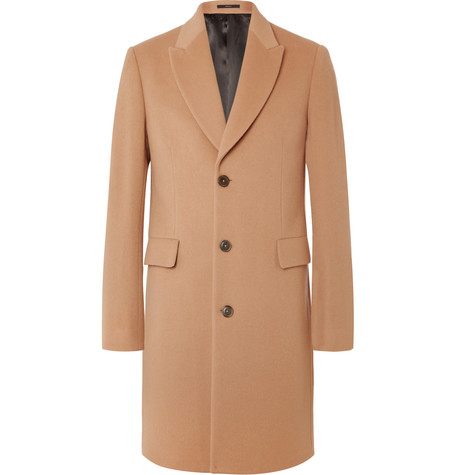 Wool and cashmere-blend coat by PAUL SMITH LONDON