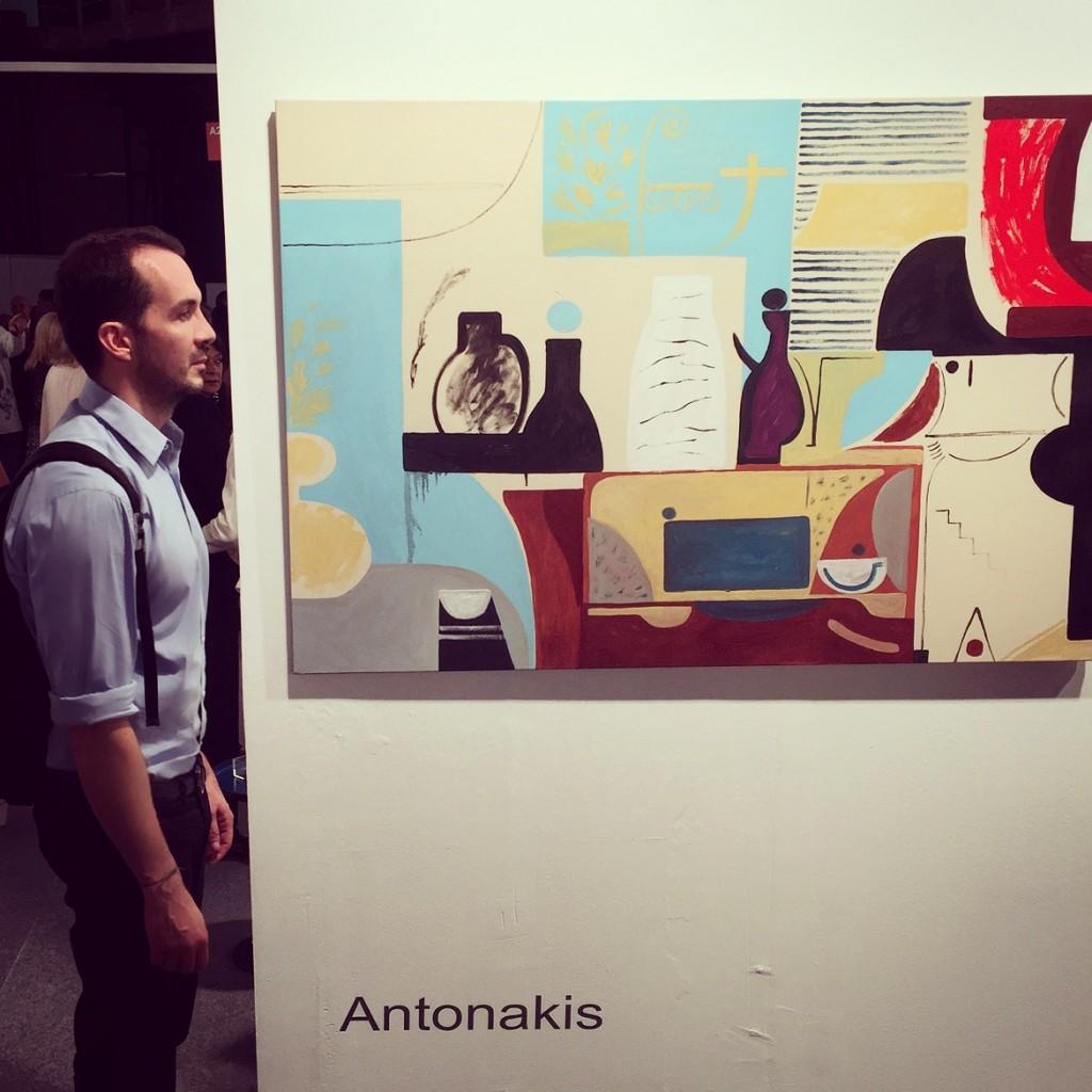 Antonakis - Study of Ivy's Mom Living Room // Eleftheria Tseliou Gallery