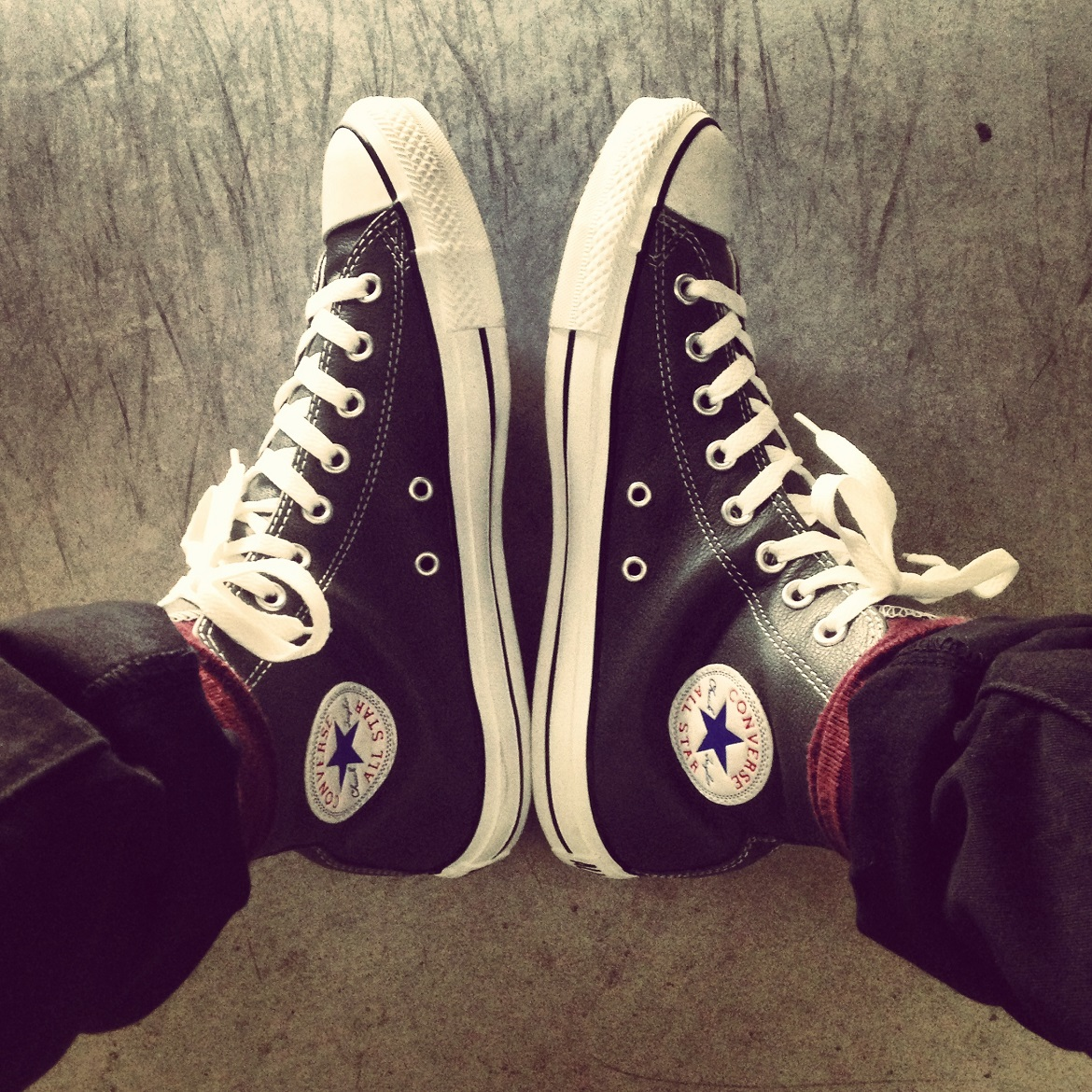 Weather changes fast but a pair of Converse Chuck Taylor All Star is always in fashion.