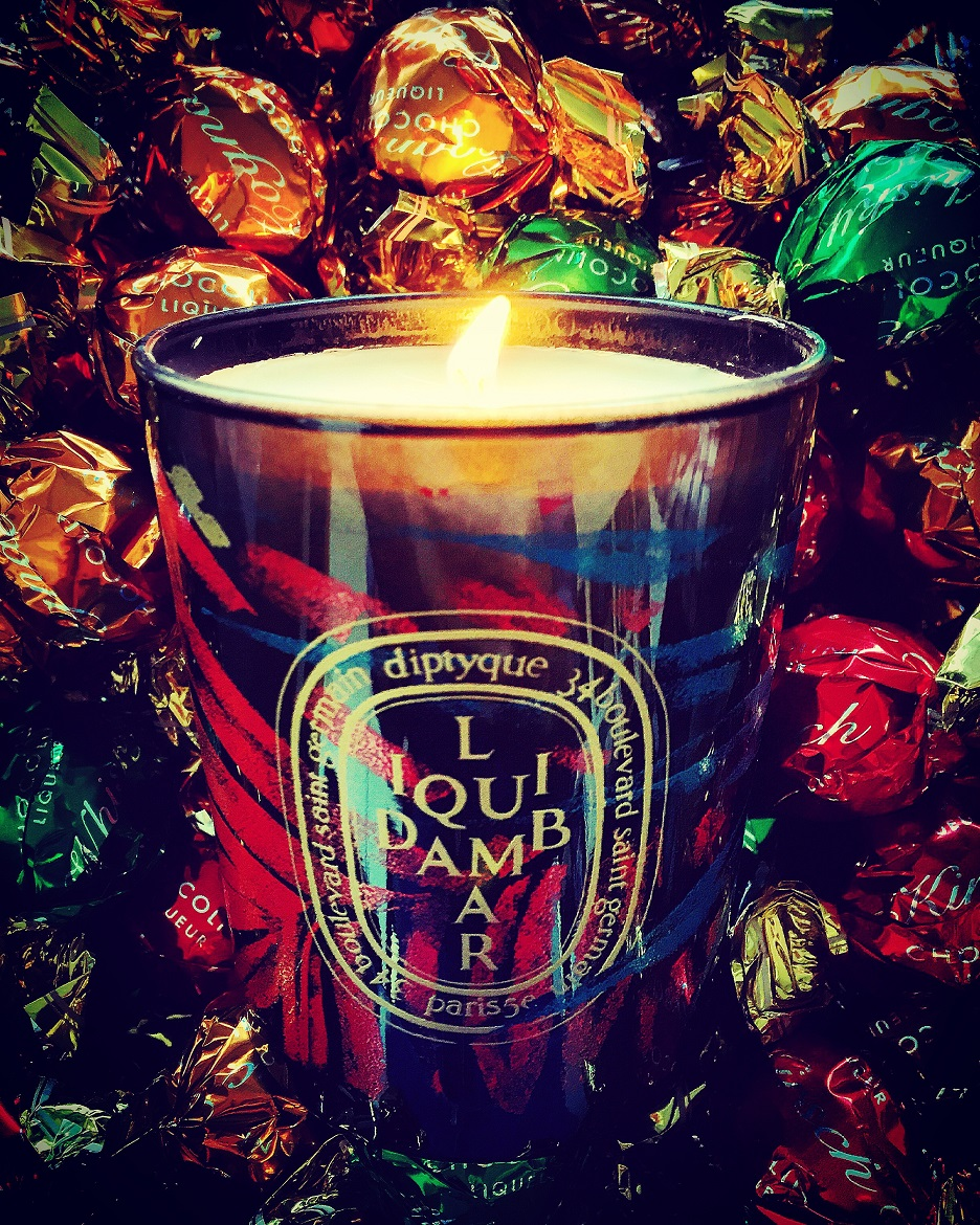 LiquidAmbar limited edition Xmas candle by DIPTYQUE (www.atticaselectivebrands.gr)